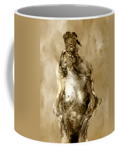 Nude Coffee Mug featuring the photograph Melt by Kurt Van Wagner