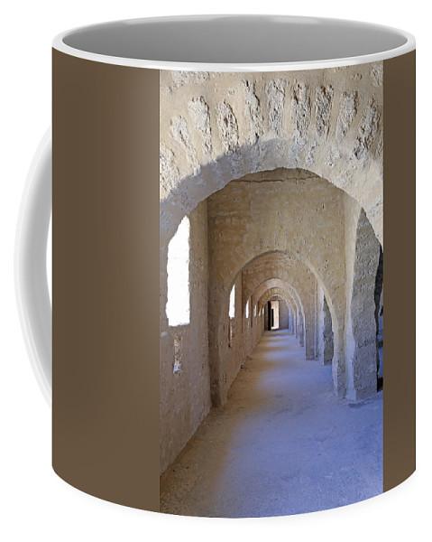 Tunisia Coffee Mug featuring the photograph Monastir Ribat by Paul Fell