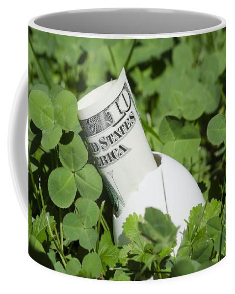Money Coffee Mug featuring the photograph Money by Mats Silvan
