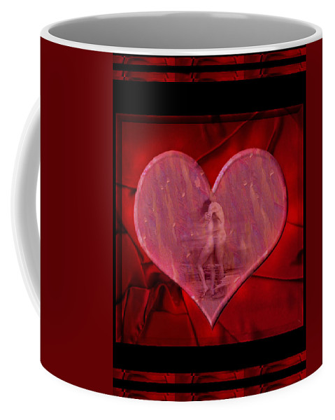 Nude Coffee Mug featuring the photograph My Hearts Desire by Kurt Van Wagner
