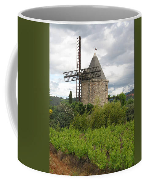 Mill Coffee Mug featuring the photograph Old Windmill by Christiane Schulze Art And Photography