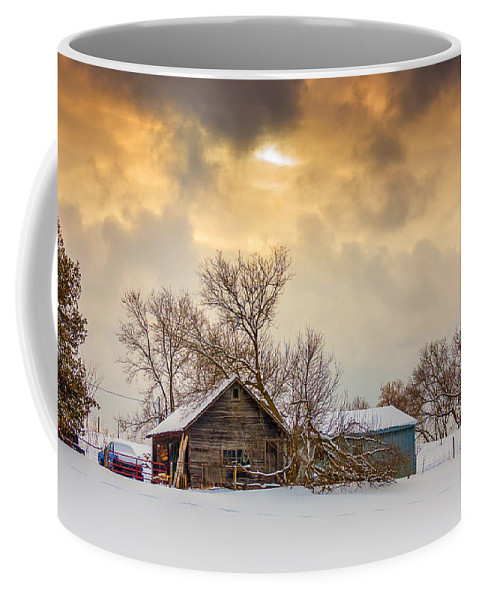 Winter Coffee Mug featuring the photograph On A Winter Day by Steve Harrington