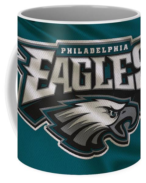 Eagles Coffee Mug featuring the photograph Philadelphia Eagles Uniform by Joe Hamilton