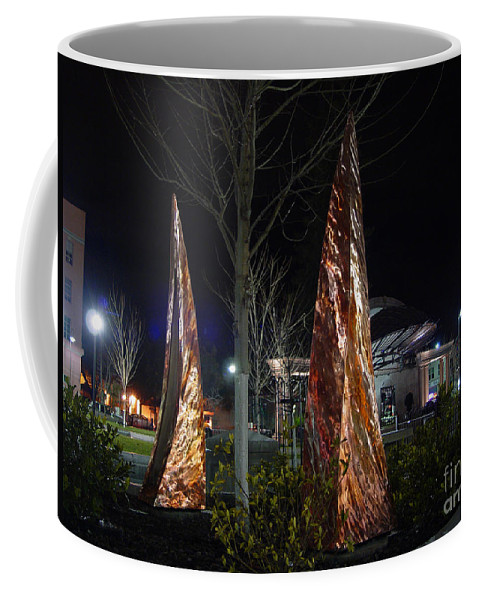 Rustic Embrace Coffee Mug featuring the photograph Rustic Embrace by Peter Piatt