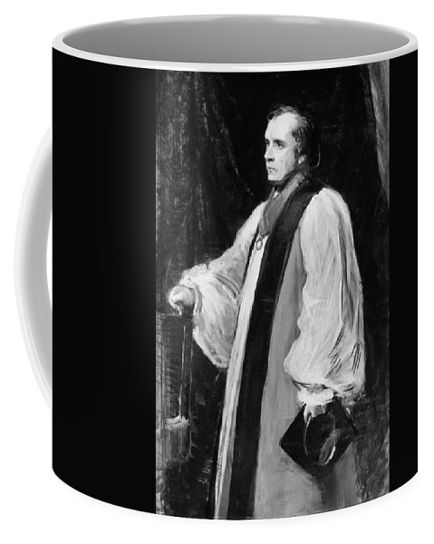 19th Century Coffee Mug featuring the painting Samuel Wilberforce (1805-1873) by Granger