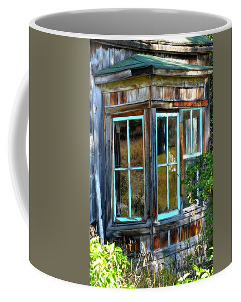 Abstract Coffee Mug featuring the photograph Slightly Askew by Lauren Leigh Hunter Fine Art Photography