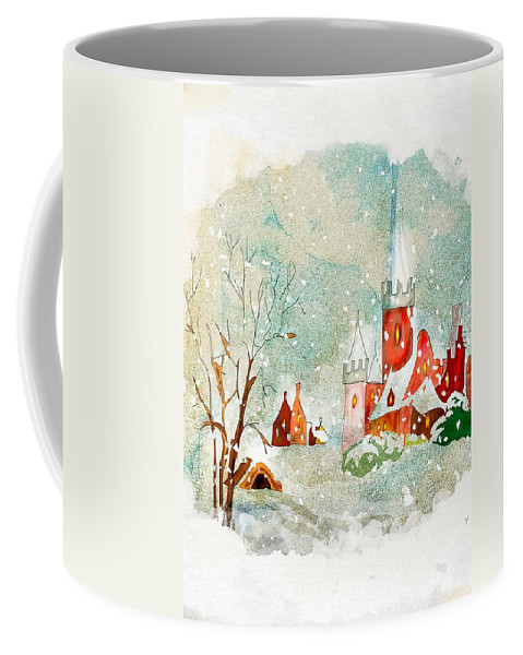 Snow Day Coffee Mug featuring the photograph Snow Day by Munir Alawi