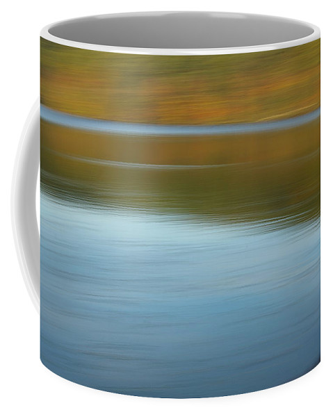 Lakes Coffee Mug featuring the photograph Speed Across The Lake by Randy Pollard