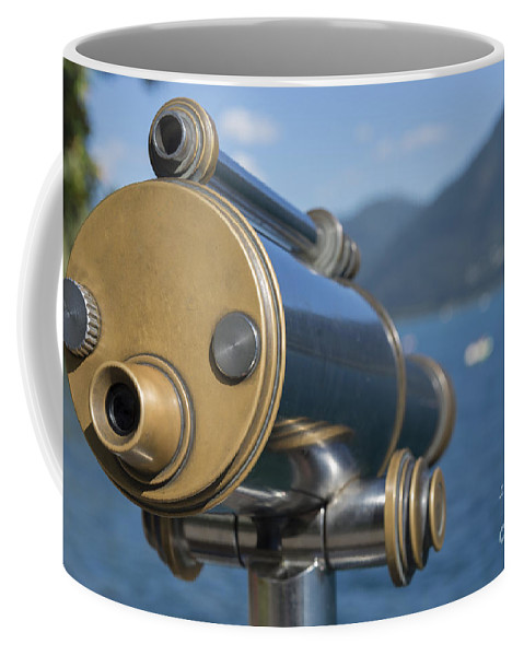 Telescope Coffee Mug featuring the photograph Telescope by Mats Silvan