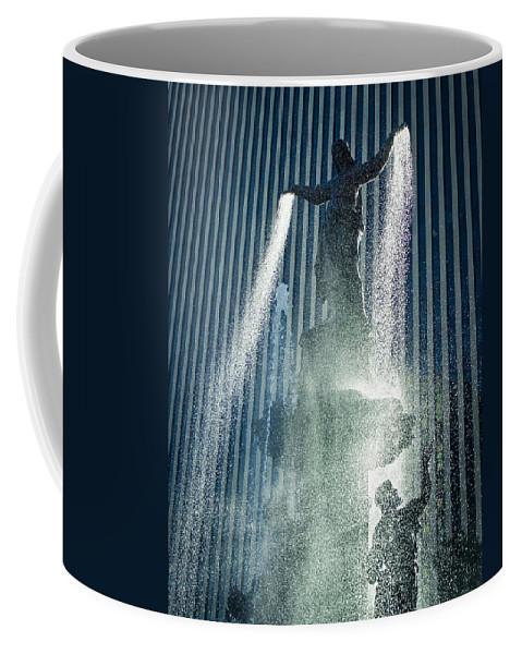 Cincinnati Coffee Mug featuring the photograph The Genius Of Water by Scott Meyer