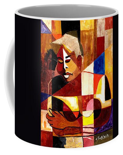 Everett Spruill Coffee Mug featuring the painting The Matriarch - Take 2 by Everett Spruill