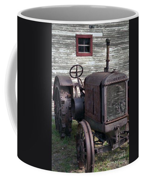 Farm Tractor Coffee Mug featuring the photograph The Old Mule by Richard Rizzo