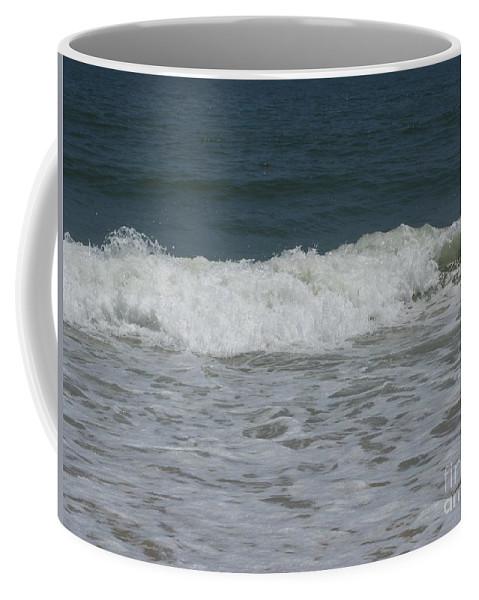 Seascape Coffee Mug featuring the photograph The Wave by Arlene Carmel