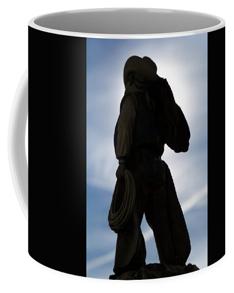 Cowboy Coffee Mug featuring the photograph The Wild Breed by Doug Long