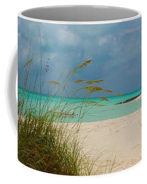 Treasure Cay Coffee Mug featuring the photograph Treasure Cay by Carey Chen