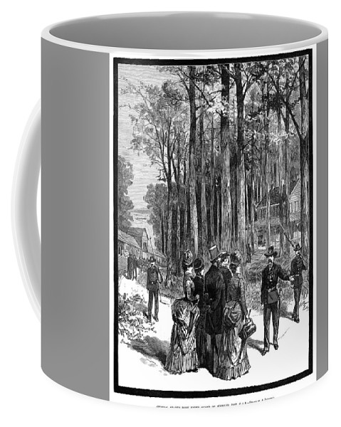 1885 Coffee Mug featuring the painting Ulysses S by Granger