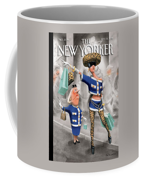 Fashion Coffee Mug featuring the painting New Yorker September 10th, 2012 by Ian Falconer