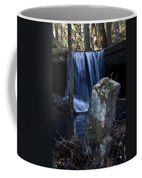 Ruins Coffee Mug featuring the photograph Waterfall At The Ruins by Douglas Barnett