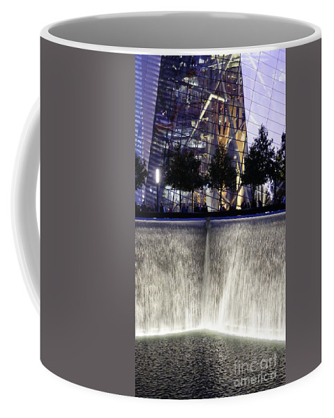 World Trade Center Coffee Mug featuring the photograph World Trade Center Museum by Lilliana Mendez
