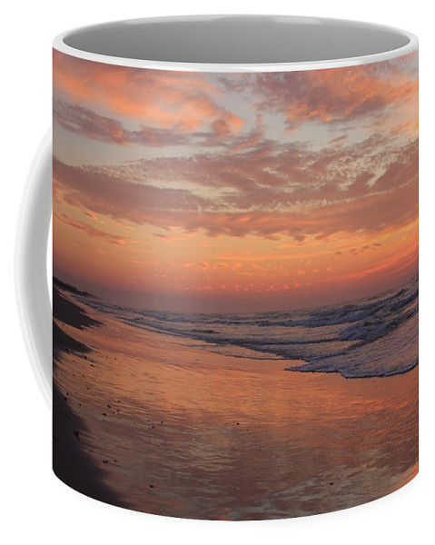 Wrightsville Beach Coffee Mug featuring the photograph Wrightsville Beach At Sunrise by Mountains to the Sea Photo