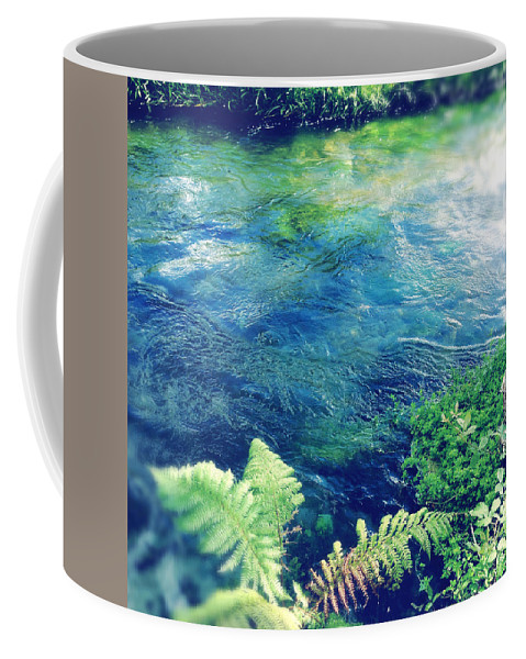 Water Coffee Mug featuring the photograph Spring Water by Les Cunliffe