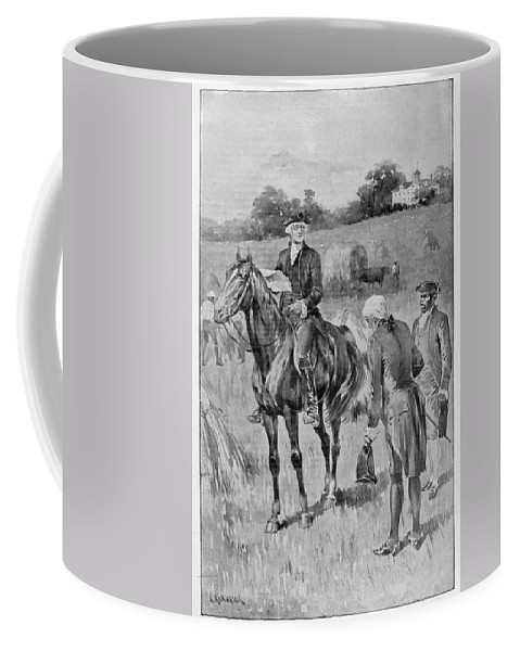 18th Century Coffee Mug featuring the photograph George Washington by Granger