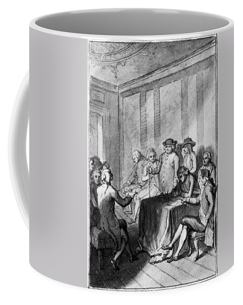 1776 Coffee Mug featuring the photograph Declaration Of Independence by Granger
