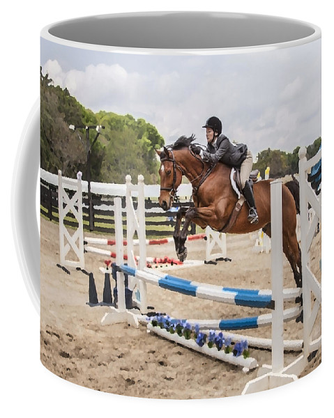 Coffee Mug featuring the photograph Ashmore Farms by Rich Franco