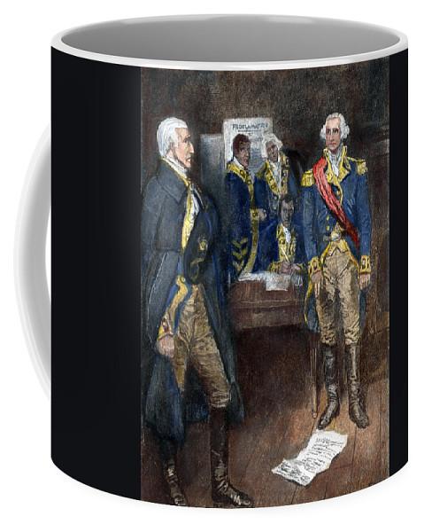 1782 Coffee Mug featuring the photograph George Washington by Granger