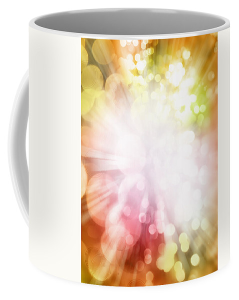 Abstract Coffee Mug featuring the photograph Abstract Background by Les Cunliffe