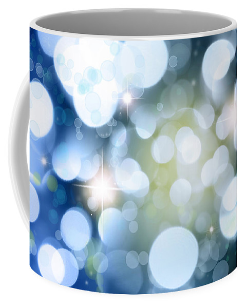 Shine Coffee Mug featuring the photograph Abstract Background by Les Cunliffe