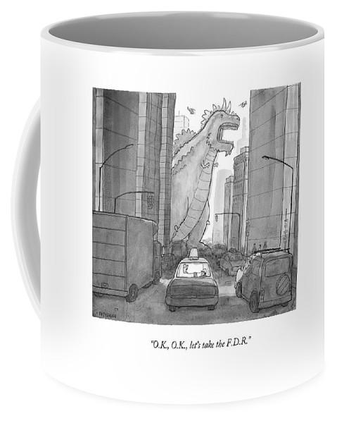 O.k., O.k., Let's Take The F.d.r Coffee Mug