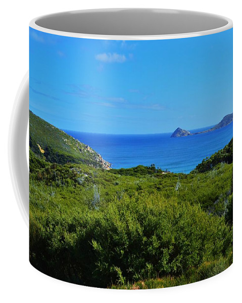 Wilsons Promontory Coffee Mug featuring the photograph Wilsons Prom by Snowflake Obsidian