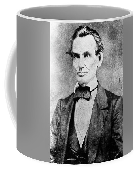 1860 Coffee Mug featuring the photograph Abraham Lincoln (1809-1865) by Granger