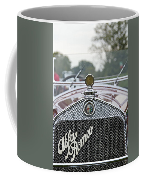 Antique Coffee Mug featuring the photograph 1931 Alfa Romeo by Jack R Perry