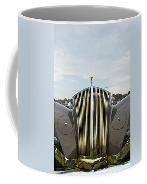 Antique Coffee Mug featuring the photograph 1937 47 Rolls Royce by Jack R Perry