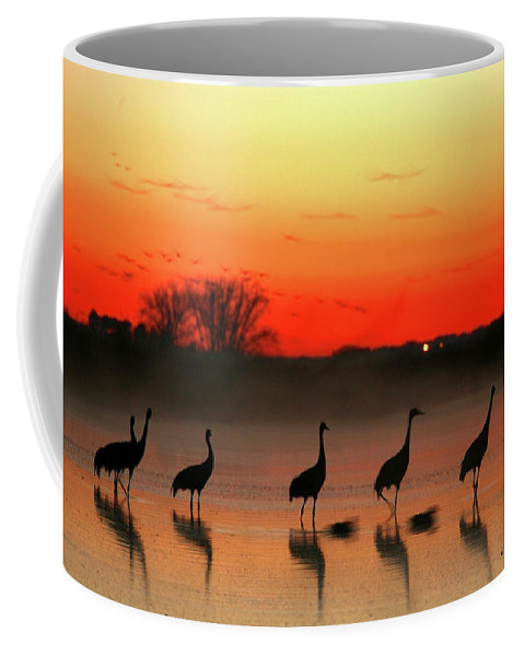 Side View Coffee Mug featuring the photograph A General View Of The National Park by David Santiago Garcia