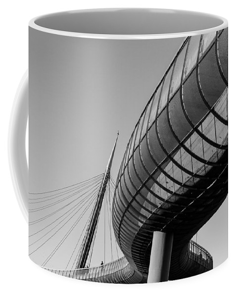 Bridge Coffee Mug featuring the photograph Bridges In The Sky by Andrea Mazzocchetti