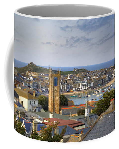 St Ives Coffee Mug featuring the photograph Cornwall - St Ives by Joana Kruse