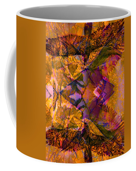 Hawk Coffee Mug featuring the photograph 3 Creatures Of Change by Deprise Brescia