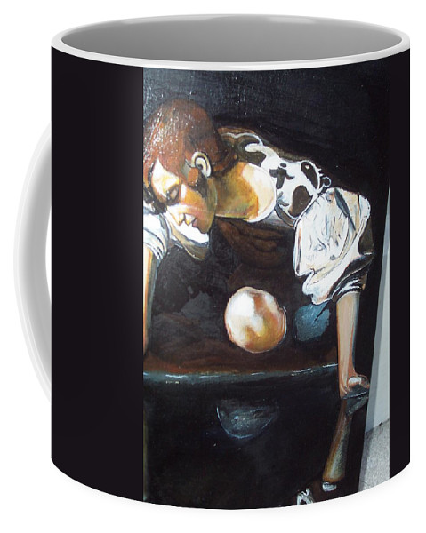 Coffee Mug featuring the painting Detail by Jude Darrien