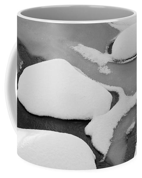 Ice Coffee Mug featuring the photograph Fresh Snow by Alana Ranney