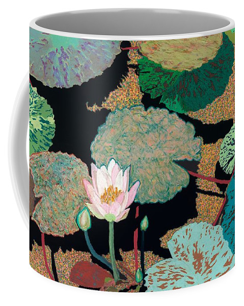 Landscape Coffee Mug featuring the painting Hot and Humid by Allan P Friedlander