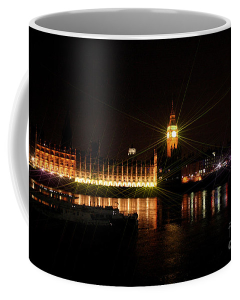 Eye Coffee Mug featuring the photograph Houses Of Parliament And Big Ben by Doc Braham