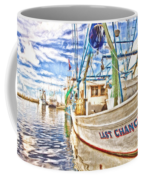 Last Chance Coffee Mug featuring the photograph Last Chance - Hdr by Scott Pellegrin