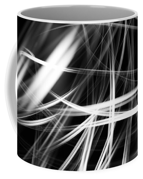 Abstract Coffee Mug featuring the photograph Lines by Les Cunliffe