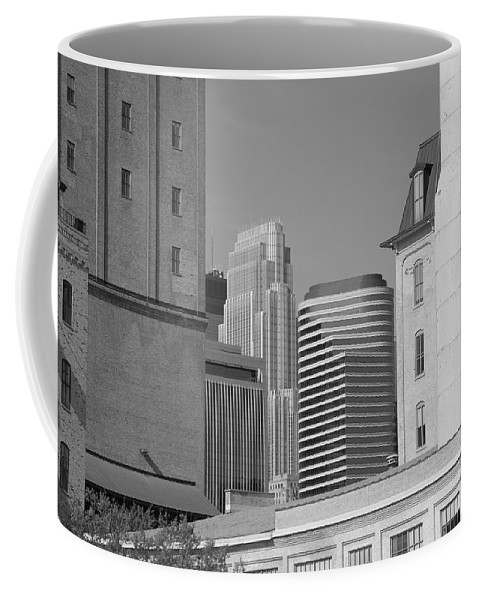 America Coffee Mug featuring the photograph Minneapolis by Frank Romeo