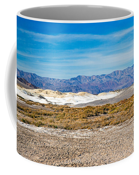 California Coffee Mug featuring the photograph Salt Creek Death Valley National Park by Fred Stearns