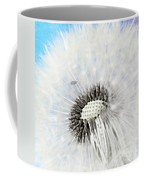 Drops Coffee Mug featuring the mixed media Spring by Heike Hultsch