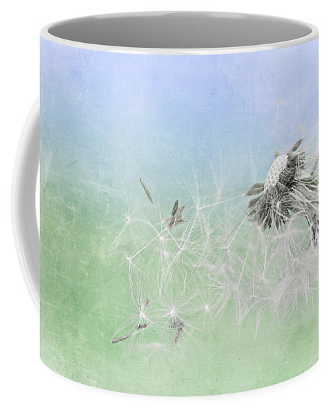 Drops Coffee Mug featuring the mixed media Summertime by Heike Hultsch